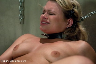 Photo number 9 from Blond Babe Hat Trick <br> Machine Fucking of Three Beautiful Blond Babes shot for Fucking Machines on Kink.com. Featuring Lorelei Lee, Lily LaBeau and Heather Starlett in hardcore BDSM & Fetish porn.