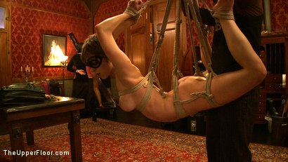 Photo number 13 from Stefanos' Brunch shot for The Upper Floor on Kink.com. Featuring Maestro Stefanos and Nerine Mechanique in hardcore BDSM & Fetish porn.