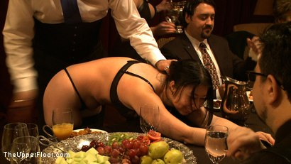 Photo number 2 from Stefanos' Brunch shot for The Upper Floor on Kink.com. Featuring Maestro Stefanos and Nerine Mechanique in hardcore BDSM & Fetish porn.