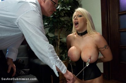 Photo number 7 from Tales of a Submissive Housewife shot for Sex And Submission on Kink.com. Featuring Mark Davis and Candy Manson in hardcore BDSM & Fetish porn.