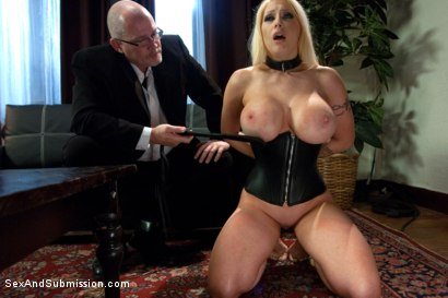 Photo number 4 from Tales of a Submissive Housewife shot for Sex And Submission on Kink.com. Featuring Mark Davis and Candy Manson in hardcore BDSM & Fetish porn.