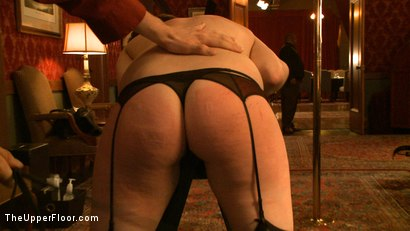 Photo number 7 from Stefanos' Brunch shot for The Upper Floor on Kink.com. Featuring Jessie Cox, Kait Snow, Nerine Mechanique and Maestro Stefanos in hardcore BDSM & Fetish porn.