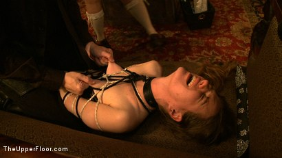 Photo number 18 from Stefanos' Brunch shot for The Upper Floor on Kink.com. Featuring Jessie Cox, Kait Snow, Nerine Mechanique and Maestro Stefanos in hardcore BDSM & Fetish porn.