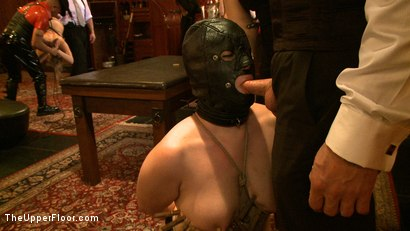 Photo number 22 from Stefanos' Brunch shot for The Upper Floor on Kink.com. Featuring Jessie Cox, Kait Snow, Nerine Mechanique and Maestro Stefanos in hardcore BDSM & Fetish porn.