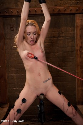 Photo number 9 from Tough Little Slut shot for Wired Pussy on Kink.com. Featuring Emma Haize and Isis Love in hardcore BDSM & Fetish porn.