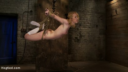Photo number 13 from Nicki is bound, suspended, manhandled, abused, humiliated, made to cum like a common whore shot for Hogtied on Kink.com. Featuring Nicki Blue in hardcore BDSM & Fetish porn.