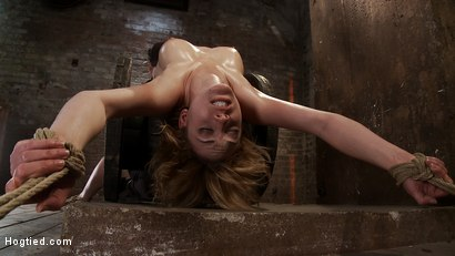 Photo number 7 from 19yr old fashion & fitness model made to cum so hard she can't even beg for mercy. Totally destroyed shot for Hogtied on Kink.com. Featuring Lily LaBeau in hardcore BDSM & Fetish porn.