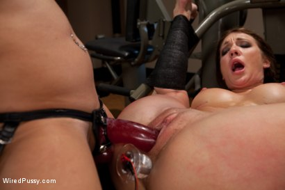 Photo number 11 from Make Her Sweat shot for Wired Pussy on Kink.com. Featuring Amy Brooke, Isis Love and Sinn Sage in hardcore BDSM & Fetish porn.