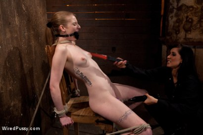 Photo number 13 from Isis Love Torments Innocent Sub with Electricity shot for Wired Pussy on Kink.com. Featuring Ela Darling and Isis Love in hardcore BDSM & Fetish porn.