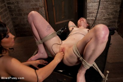 Photo number 7 from Isis Love Torments Innocent Sub with Electricity shot for Wired Pussy on Kink.com. Featuring Ela Darling and Isis Love in hardcore BDSM & Fetish porn.