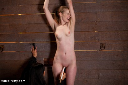 Photo number 6 from Isis Love Torments Innocent Sub with Electricity shot for Wired Pussy on Kink.com. Featuring Ela Darling and Isis Love in hardcore BDSM & Fetish porn.