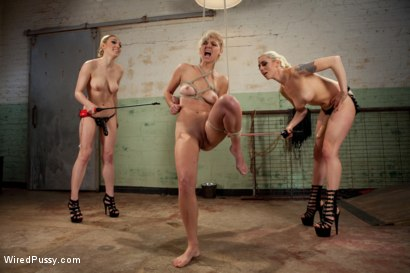 Photo number 3 from Water Torture shot for Wired Pussy on Kink.com. Featuring Lily LaBeau, Lorelei Lee and Chloe Camilla in hardcore BDSM & Fetish porn.