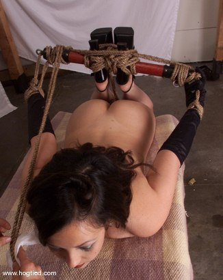 Photo number 4 from Kitty shot for Hogtied on Kink.com. Featuring Kitty in hardcore BDSM & Fetish porn.