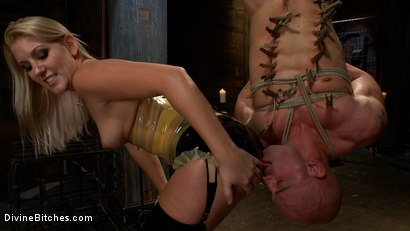 Photo number 8 from Debut Of A New Bitch shot for Divine Bitches on Kink.com. Featuring Patrick Rouge and Ashley Edmonds in hardcore BDSM & Fetish porn.