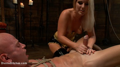 Photo number 9 from Debut Of A New Bitch shot for Divine Bitches on Kink.com. Featuring Patrick Rouge and Ashley Edmonds in hardcore BDSM & Fetish porn.