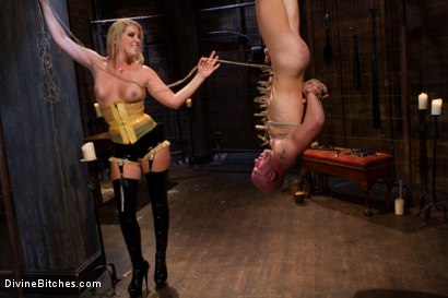 Photo number 11 from Debut Of A New Bitch shot for Divine Bitches on Kink.com. Featuring Patrick Rouge and Ashley Edmonds in hardcore BDSM & Fetish porn.