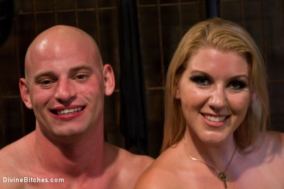 Photo number 4 from Debut Of A New Bitch shot for Divine Bitches on Kink.com. Featuring Patrick Rouge and Ashley Edmonds in hardcore BDSM & Fetish porn.