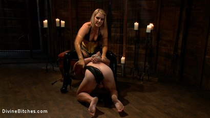 Photo number 14 from Debut Of A New Bitch shot for Divine Bitches on Kink.com. Featuring Patrick Rouge and Ashley Edmonds in hardcore BDSM & Fetish porn.