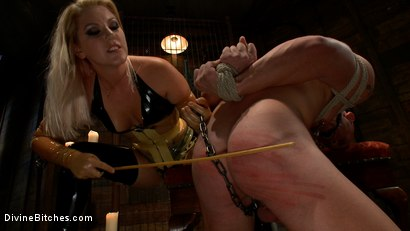Photo number 6 from Debut Of A New Bitch shot for Divine Bitches on Kink.com. Featuring Patrick Rouge and Ashley Edmonds in hardcore BDSM & Fetish porn.