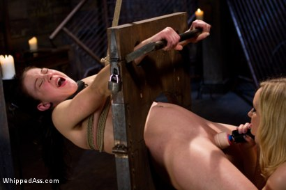 Photo number 15 from First time fisting, check. First anal orgasm, check. shot for Whipped Ass on Kink.com. Featuring Aiden Starr and Cheyenne Jewel in hardcore BDSM & Fetish porn.