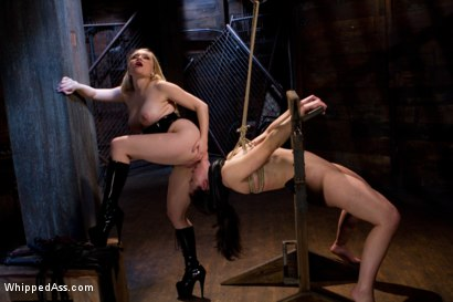 Photo number 4 from First time fisting, check. First anal orgasm, check. shot for Whipped Ass on Kink.com. Featuring Aiden Starr and Cheyenne Jewel in hardcore BDSM & Fetish porn.