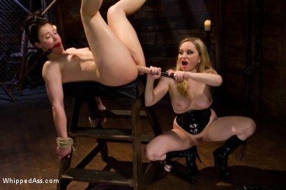 Photo number 6 from First time fisting, check. First anal orgasm, check. shot for Whipped Ass on Kink.com. Featuring Aiden Starr and Cheyenne Jewel in hardcore BDSM & Fetish porn.