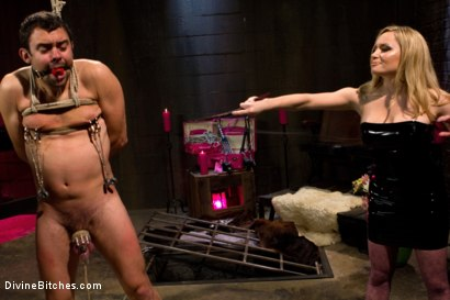 Photo number 5 from From Worthless To Worthy In Five Mistresses: Episode 1 shot for Divine Bitches on Kink.com. Featuring Scout and Aiden Starr in hardcore BDSM & Fetish porn.