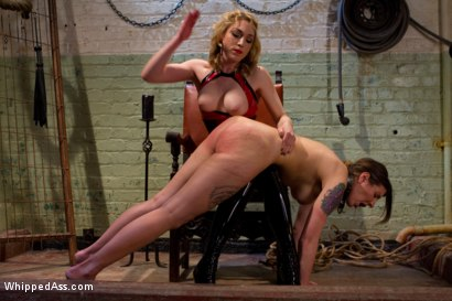 Photo number 6 from Lily's Plaything shot for Whipped Ass on Kink.com. Featuring Lily LaBeau and Ginger Gates in hardcore BDSM & Fetish porn.