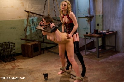 Photo number 9 from Lily's Plaything shot for Whipped Ass on Kink.com. Featuring Lily LaBeau and Ginger Gates in hardcore BDSM & Fetish porn.
