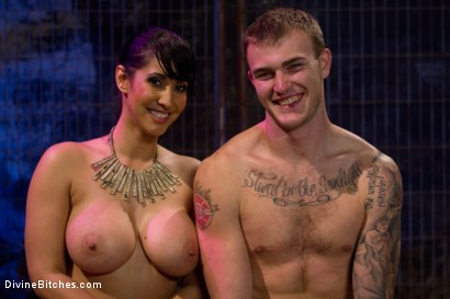 Photo number 8 from Christian Wilde shot for Divine Bitches on Kink.com. Featuring Isis Love and Christian Wilde in hardcore BDSM & Fetish porn.