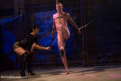 Photo number 15 from Christian Wilde shot for Divine Bitches on Kink.com. Featuring Isis Love and Christian Wilde in hardcore BDSM & Fetish porn.