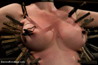 Photo number 4 from Curvy broad suffers for orgasms then strung up by hair suspension. shot for Device Bondage on Kink.com. Featuring Sybil Hawthorne in hardcore BDSM & Fetish porn.