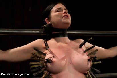 Photo number 1 from Curvy broad suffers for orgasms then strung up by hair suspension. shot for Device Bondage on Kink.com. Featuring Sybil Hawthorne in hardcore BDSM & Fetish porn.