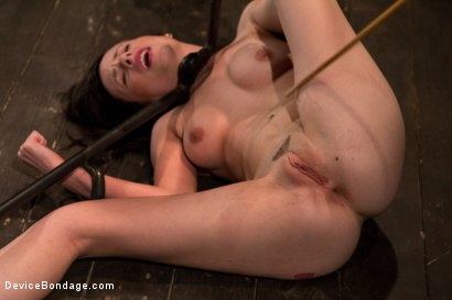 Photo number 5 from Petite Brunette is Bound, Vibed and Denied shot for Device Bondage on Kink.com. Featuring Lindy Lane in hardcore BDSM & Fetish porn.