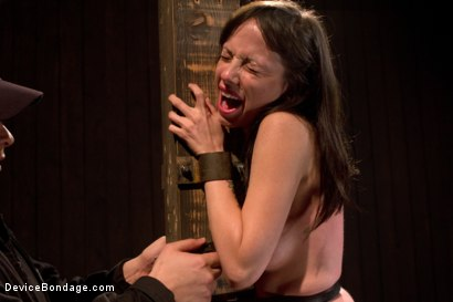 Photo number 8 from Petite Brunette is Bound, Vibed and Denied shot for Device Bondage on Kink.com. Featuring Lindy Lane in hardcore BDSM & Fetish porn.
