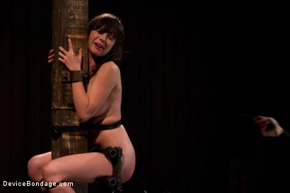 Photo number 10 from Petite Brunette is Bound, Vibed and Denied shot for Device Bondage on Kink.com. Featuring Lindy Lane in hardcore BDSM & Fetish porn.