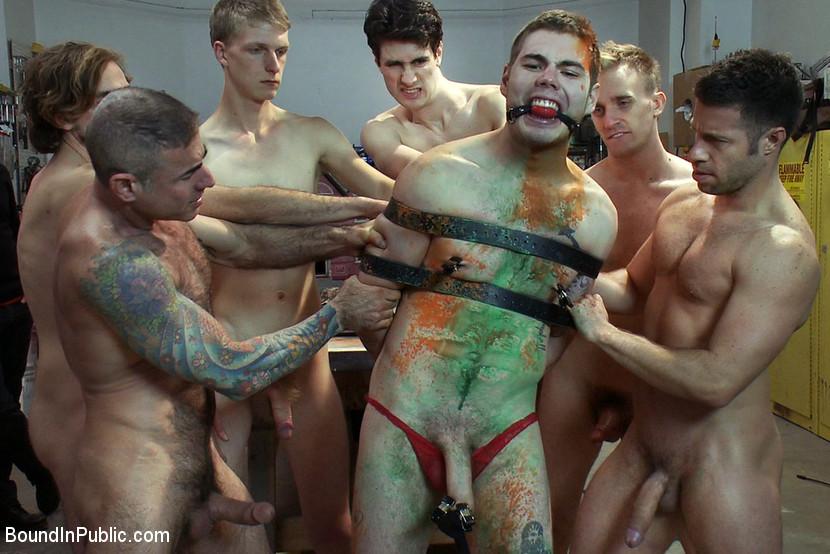 bathroom free gay in man naked photo