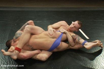 Photo number 2 from Sebastian Keyes vs Cliff Jensen shot for nakedkombat on Kink.com. Featuring Cliff Jensen and Sebastian Keys in hardcore BDSM & Fetish porn.