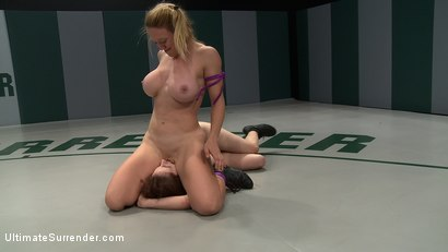 Photo number 11 from 2 wrestlers with HUGE tits, non-scripted wrestling<br>Blond destroys red head fucks her like a whore shot for Ultimate Surrender on Kink.com. Featuring Dee Williams and Iona Grace in hardcore BDSM & Fetish porn.