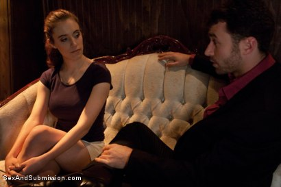Photo number 1 from Gentlemen's Club Audition shot for Sex And Submission on Kink.com. Featuring James Deen and Iona Grace in hardcore BDSM & Fetish porn.