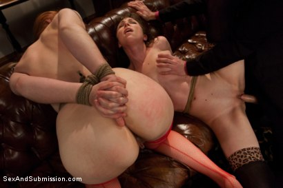Photo number 6 from Behaved and Determined shot for Sex And Submission on Kink.com. Featuring James Deen, Violet Monroe and Seda in hardcore BDSM & Fetish porn.