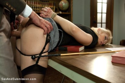 Photo number 4 from The Good Old Methods shot for Sex And Submission on Kink.com. Featuring Steve Holmes, Sarah Vandella and Emma Haize in hardcore BDSM & Fetish porn.