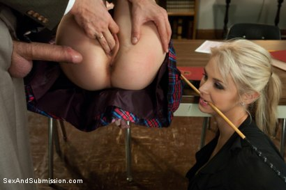 Photo number 6 from The Good Old Methods shot for Sex And Submission on Kink.com. Featuring Steve Holmes, Sarah Vandella and Emma Haize in hardcore BDSM & Fetish porn.