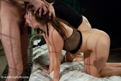 Photo number 10 from Anal Inmates shot for Everything Butt on Kink.com. Featuring Ashli  Orion, Steve Holmes and Jennifer Dark in hardcore BDSM & Fetish porn.