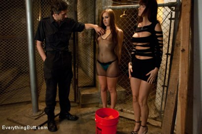 Photo number 3 from Anal Inmates shot for Everything Butt on Kink.com. Featuring Ashli  Orion, Steve Holmes and Jennifer Dark in hardcore BDSM & Fetish porn.