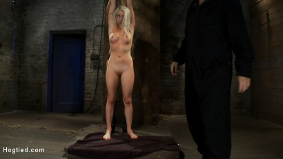 Photo number 1 from We yank a leg up, cane her<br>then make her cum until she's totally physically & emotionally wrecked shot for Hogtied on Kink.com. Featuring Lorelei Lee and Isis Love in hardcore BDSM & Fetish porn.