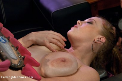Photo number 10 from BOOBS <br> Enough Said shot for Fucking Machines on Kink.com. Featuring Sierra Skye in hardcore BDSM & Fetish porn.