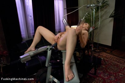 Photo number 6 from BOOBS <br> Enough Said shot for Fucking Machines on Kink.com. Featuring Sierra Skye in hardcore BDSM & Fetish porn.