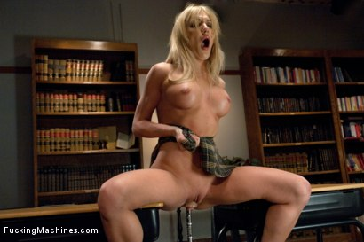 Photo number 12 from TRIPLE FUCKSALL ANAL AND PUSSY FUCKING  STRETCHED TO THE LIMIT shot for Fucking Machines on Kink.com. Featuring Amy Brooke in hardcore BDSM & Fetish porn.