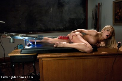 Photo number 8 from Two in the Ass is NOT Enough - Stuffing Her Full with Robot COCK shot for Fucking Machines on Kink.com. Featuring Amy Brooke in hardcore BDSM & Fetish porn.